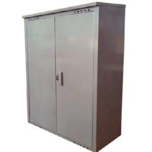 Купить серый шкаф на два баллона Петромаш в Санкт-Петербурге