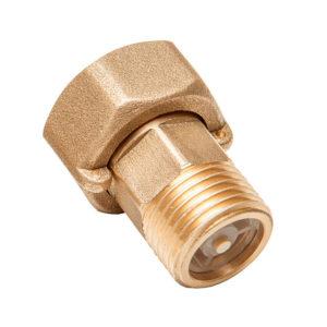 Купить комплект монтажных частей ДУ-15 (латунь) с обратным клапаном