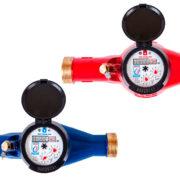 Общедомовой счетчик холодной и горячей воды «ЭКО НОМ» (крыльчатый, сухоходный предназначен для измерения объема сетевой и питьевой воды, при температуре от 5°С до 90°С. Счетчик комплектуется импульсным датчиком (магнитоуправляемым герметизированным контактом(герконом)), для дистанционной передачи низкочастотных импульсов. Счетчик может использоваться в тепловых сетях систем теплоснабжения для измерения объема теплоносителя. Устанавливается в многоквартирных домах и частном секторе, на промышленных объектах и предприятиях.