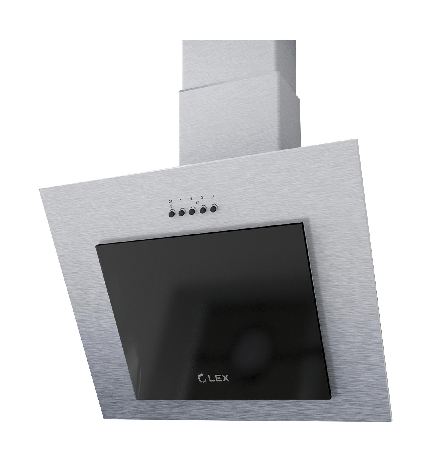 Наклонная вытяжка LEX MINI 600 INOX купить в СПБ