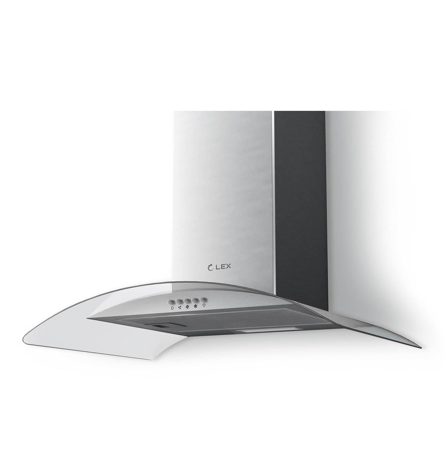 Декоративная вытяжка LEX PARIS N 600 INOX купить в СПБ