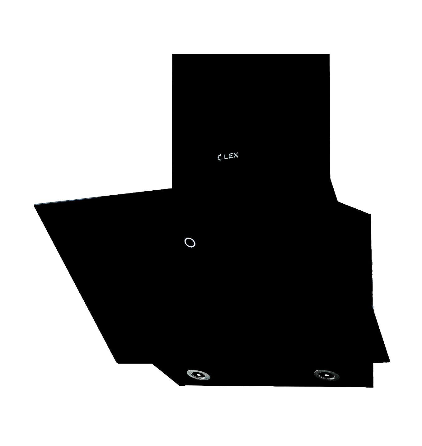 Наклонная вытяжка LEX TOUCH 600 BLACK купить в СПБ